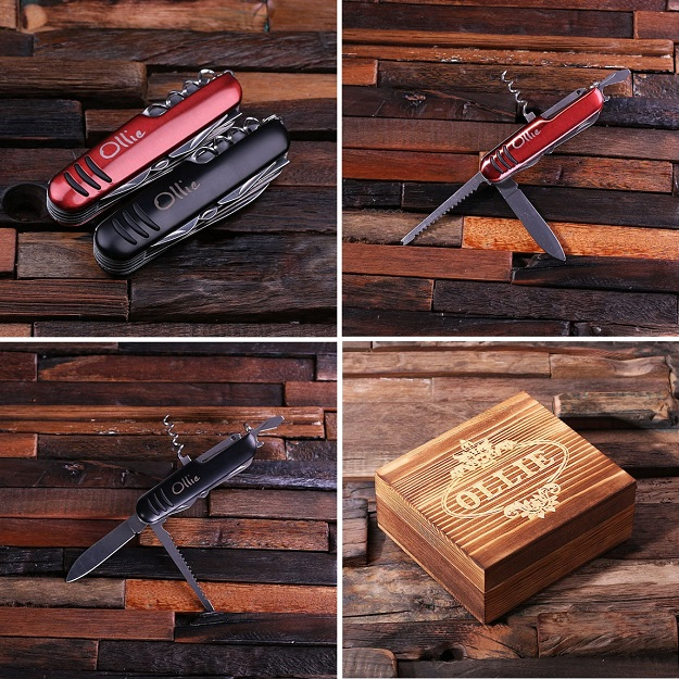 Personalized Snatch Utility Pocket Knife TP-024511