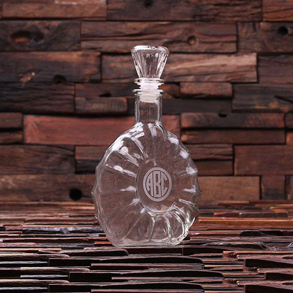Monogrammed 28oz Gravity Decanter TP-024554