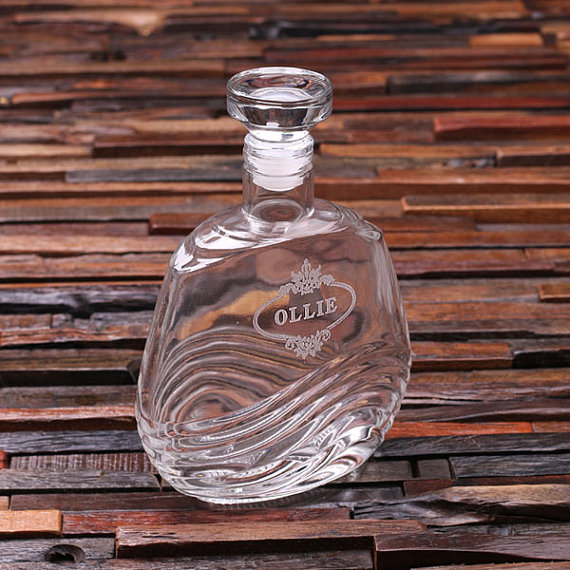 Engraved 28oz Warlin Decanter TP-024556