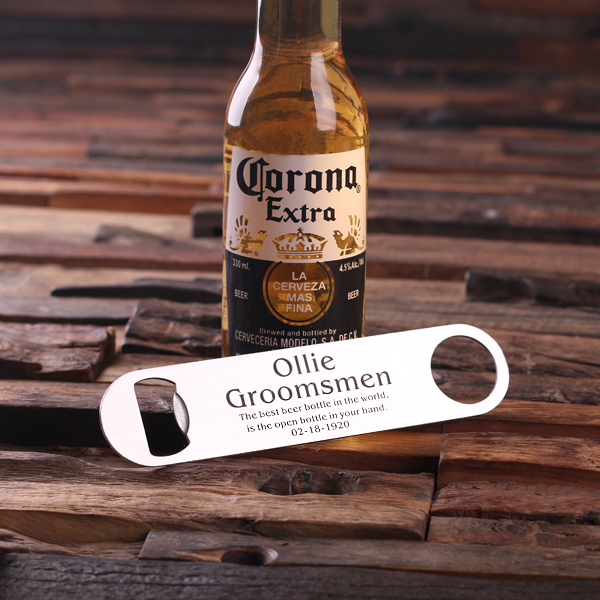 Personalized Steel Bottle Opener TP-025085