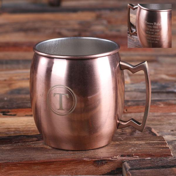 Personalized Moscow Mule Mug With Zardian Handle TP-025179