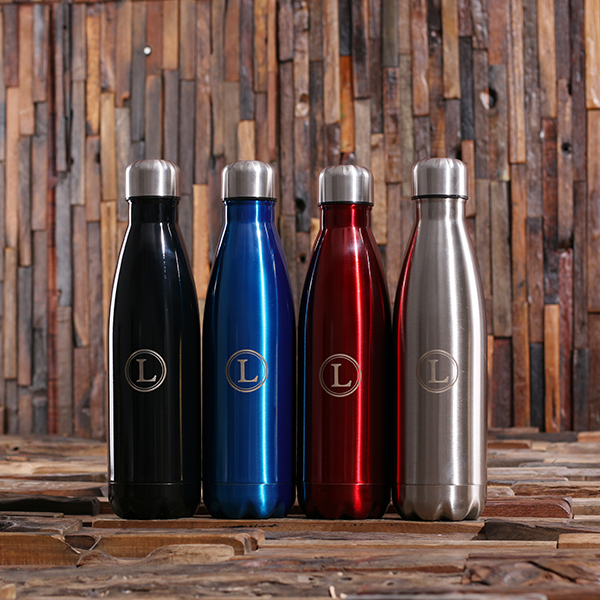 Monogrammed Sleek Water Bottle TP-025380