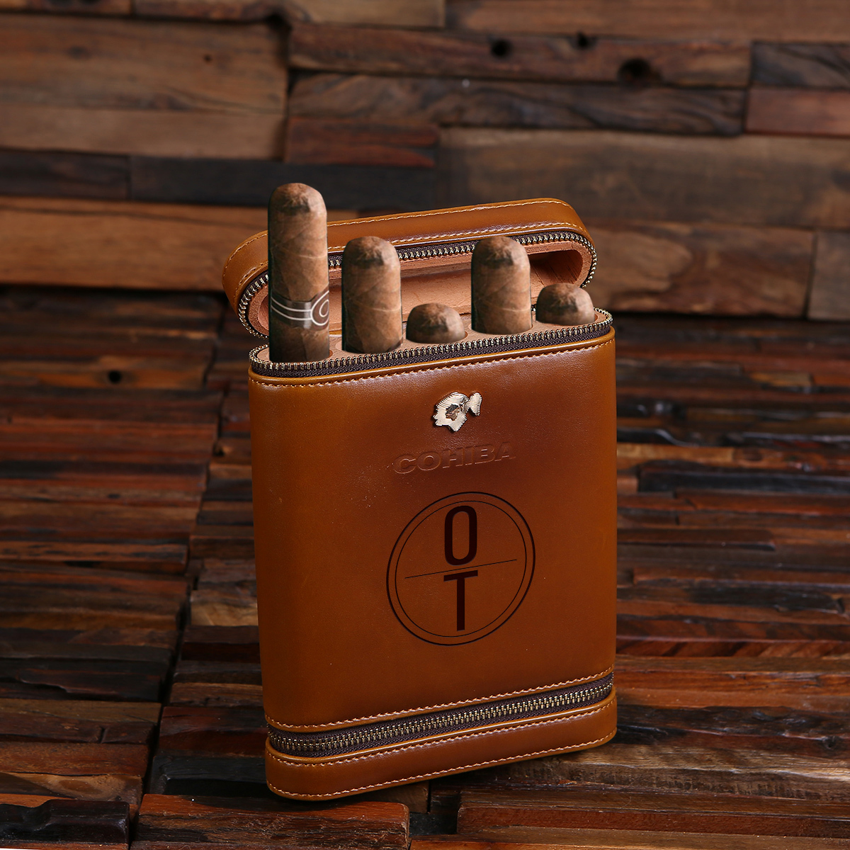 The Guat Cohiba Leather Cigar Holder TP-027848