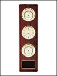 Clock Barometer and Thermometer On Rosewood WP500